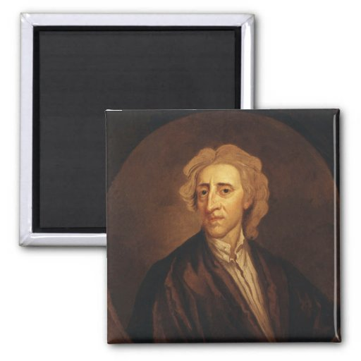 John Locke de sir Godfrey Kneller Iman Para Frigorífico