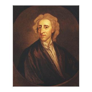 John Locke de sir Godfrey Kneller Impresiones De Lienzo