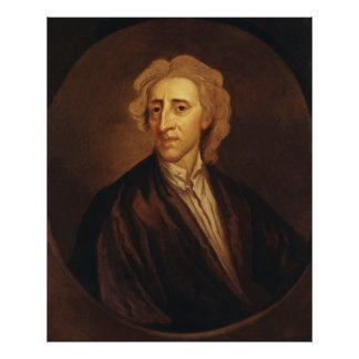 John Locke de sir Godfrey Kneller Póster