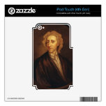 John Locke de sir Godfrey Kneller Calcomanía Para iPod Touch 4G