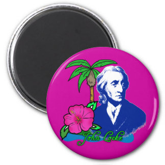 John Locke en una isla desierta Imán Redondo 5 Cm