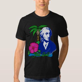 John Locke en una isla desierta Playera