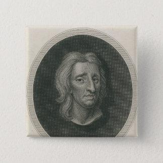 John Locke, engraved by James Basire Pinback Button