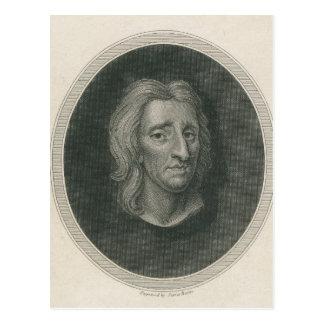 John Locke, engraved by James Basire Postcard