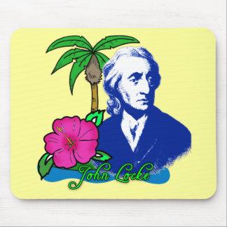 John Locke on a Desert Island Mouse Pad