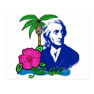 John Locke on a Desert Island Postcard
