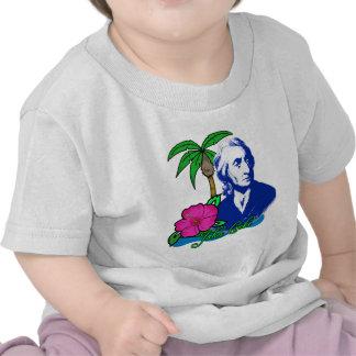 John Locke on a Desert Island T-shirts