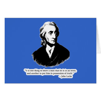 John Locke Quote T shirt, Hoodie or Mug Card