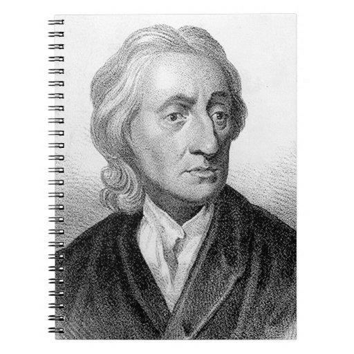 John Locke Spiral Notebook