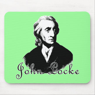 JOHN LOCKE T shirts and products Mouse Pad