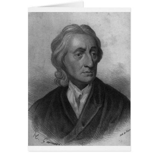 John Locke Tarjetas