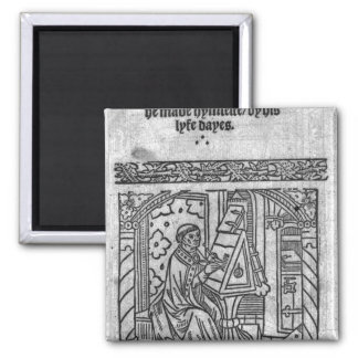 John Lydgate en su escritorio, c.1515 Imanes