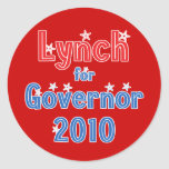 John Lynch for Governor 2010 Star Design Stickers