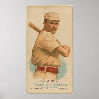 John M. Ward, New York Giants Poster