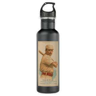 John M. Ward Tobacco Ad Water Bottle