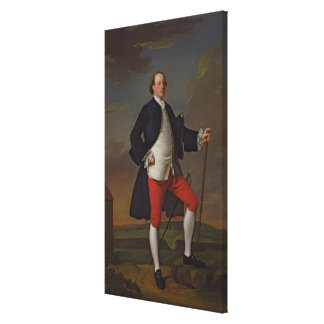 John Manners, Marquess of Granby, 1745 Canvas Print