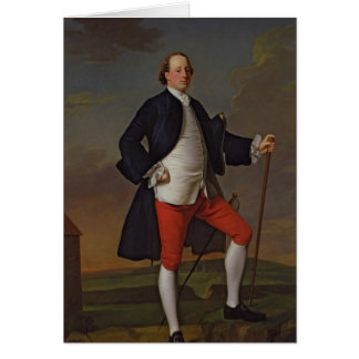 John Manners, Marquess of Granby, 1745 Card