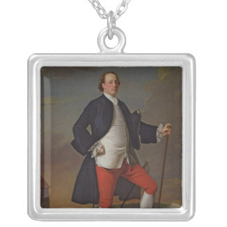 John Manners, Marquess of Granby, 1745 Square Pendant Necklace