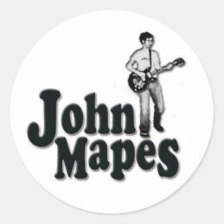 John Mapes Logo Round Sticker