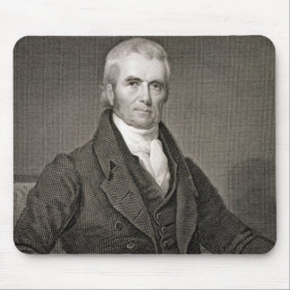 John Marshall (1755-1835), engraved by Asher Brown Mouse Pad