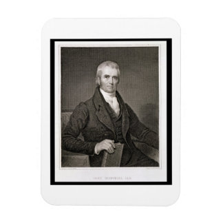 John Marshall (1755-1835), engraved by Asher Brown Rectangular Photo Magnet
