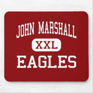 John Marshall - Eagles - High - Milwaukee Mouse Pad