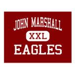 John Marshall - Eagles - High - Milwaukee Postcard