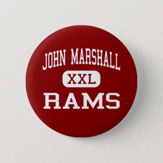 John Marshall - Rams - High - San Antonio Texas Button