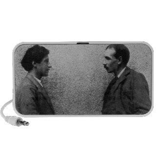 John Maynard Keynes and Duncan Grant Notebook Speaker