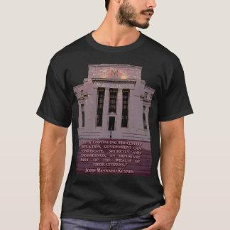 John Maynard Keynes Quote on the Federal Reserve T-Shirt