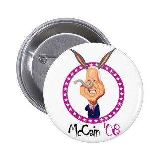 John McCain'08 Pinback Button