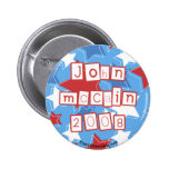 John Mccain 2008 Button