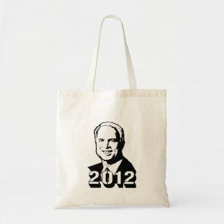 John McCain 2012 Canvas Bag