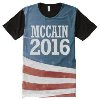 John McCain 2016 All-Over-Print T-Shirt