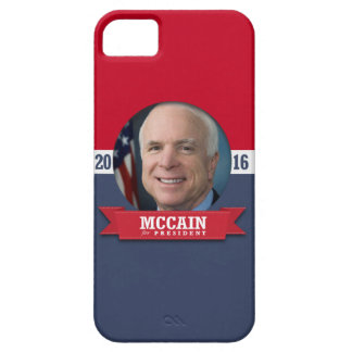 JOHN MCCAIN 2016 iPhone 5 CÁRCASAS