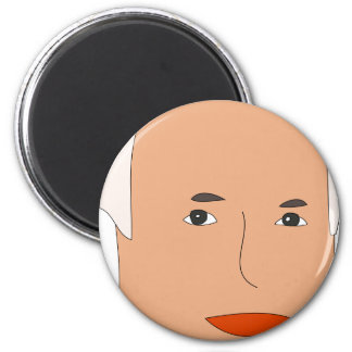 John McCain 2 Inch Round Magnet