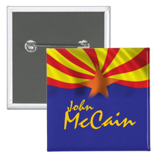 John McCain Button