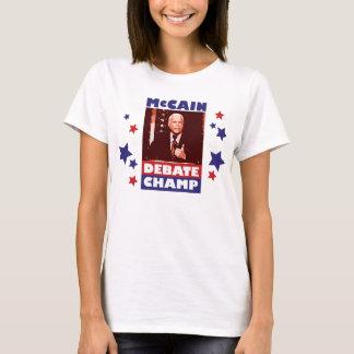 John McCain Debate Champion T-Shirt