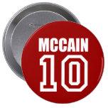 JOHN MCCAIN Election Gear Button