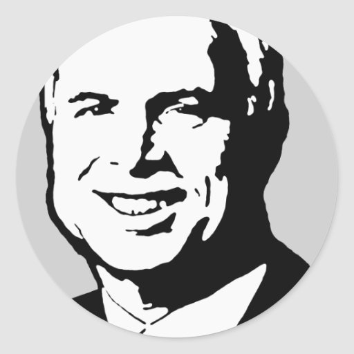 John McCain Gear Stickers