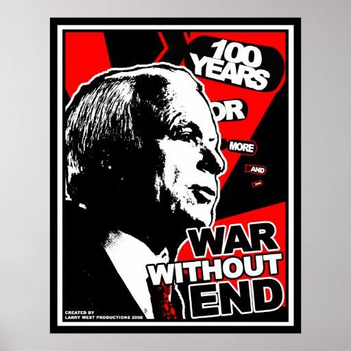 John McCain: Guerra sin extremo Poster