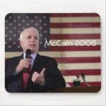 john.mccain, McCain 2008 Alfombrilla De Ratón
