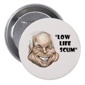 John McCain Pinback Button