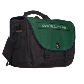 John McCain Road, Road Sign, Texas, USA Bag For Laptop