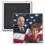 John McCain & Sarah Palin, 2008 Elections Refrigerator Magnet