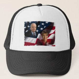 John McCain & Sarah Palin, 2008 Elections Trucker Hat