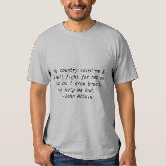 John McCain shirt