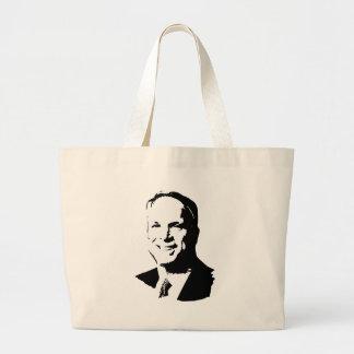 John McCain T-shirt Canvas Bag