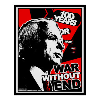 John McCain: War Without End Poster