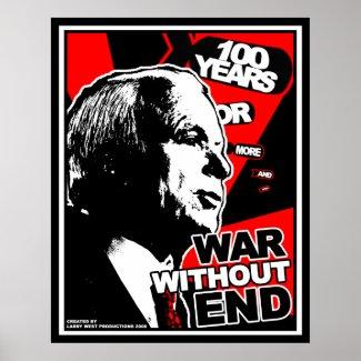 John McCain: War Without End print